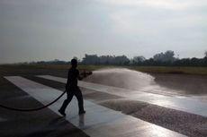 Abu Gunung Sinabung Sampai Aceh, Bandara Disiram, Penerbangan Tertunda