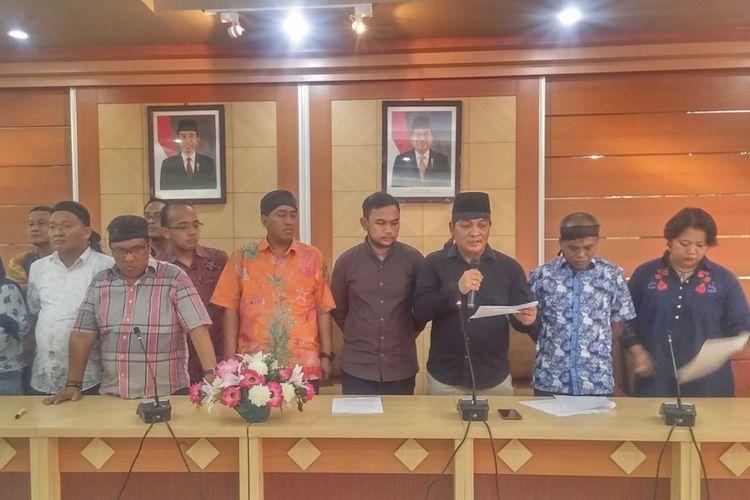 Forum Dosen FISIP Unair bacakan pernyataan sikap atas gelar doktor honoris causa Muhaimin Iskandar