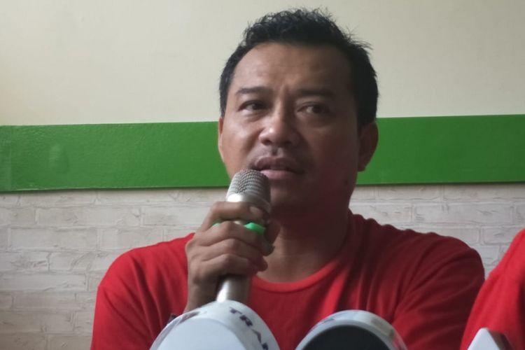 Anang Hermansyah saat ditemui dalam acara pembukaan Outlet Ayam Asix ke-8, di kawasan Braja Mustika, Bogor, Jawa Barat, Sabtu (2/1/2019).