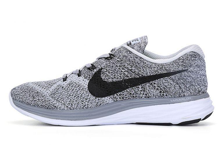 Nike Flyknit Lunar 3 in Wolf Grey