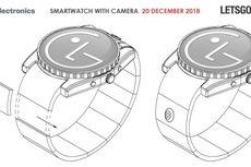 LG Patenkan Smartwatch Berkamera