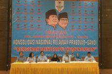 Relawan Prabowo-Sandiaga Akan Deklarasi Nasional di Istora Senayan