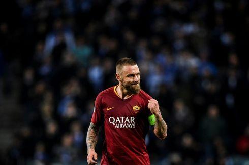 AS Roma Vs Parma, Laga Terakhir De Rossi Bersama Roma