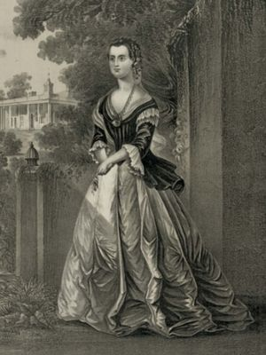 Martha Washington. (Library of Congress via Britannica)