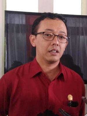 Komisioner Komnas HAM Beka Ulung Hapsara saat memberikan pernyataan pers di Gedung Komnas HAM, Jakarta, Senin (11/12/2018).