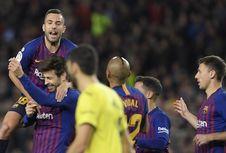 Hasil Barcelona Vs Villarreal, Kemenangan pada Laga Ke-400 Valverde