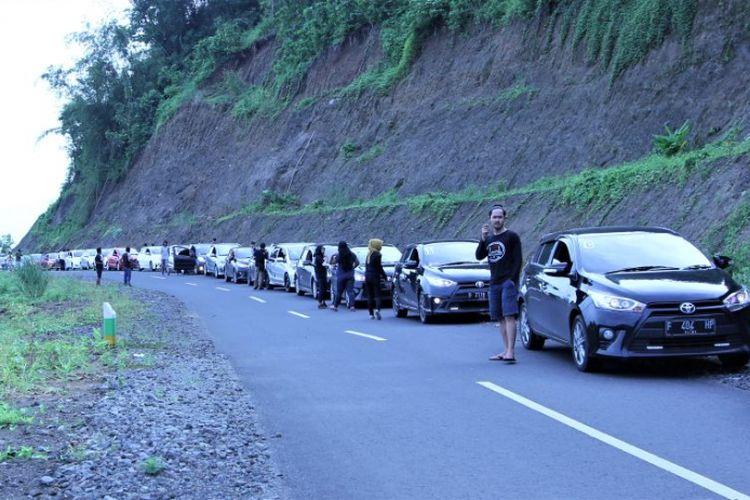 Komunitas TYCI menuju Ujung Genteng.