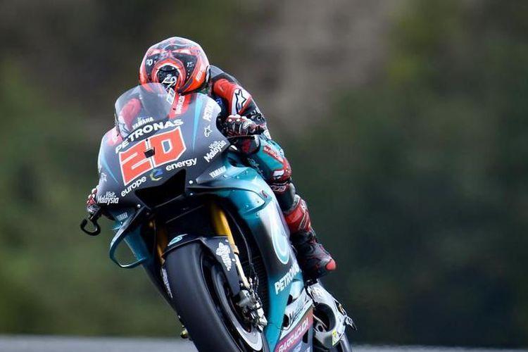 Fabio Quartararo kembali menebar ancaman di FP1 GP Le Mans 2019