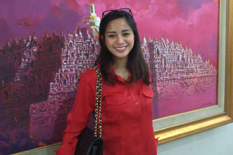 Kirana Larasati saat ditemui di Kantor DPP PDIP, Menteng, Jakarta Pusat, Selasa (23/10/2018).