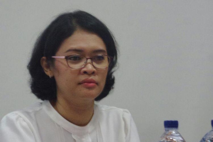 Perwakilan Indonesia untuk ASEAN Intergovernmental Commission on Human Rights (AICHR), Dinna Wisnu dalam sebuah acara diskusi di Matraman, Jakarta Timur, Kamis (14/9/2017).