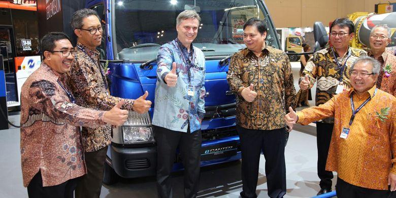 Truk Listrik Mitsubishi hadir di GIIAS 2017