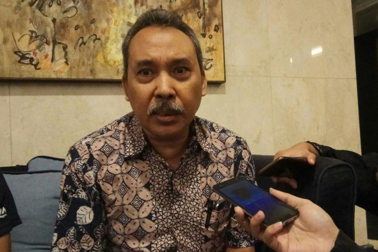 Peneliti senior Lembaga Ilmu Pengetahuan Indonesia (LIPI) Syamsuddin Haris saat ditemui di Jakarta, Rabu (13/9/2017).