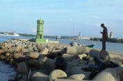 Ngabuburit di Pantai Bangka Jaya Aceh Utara...