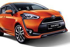 Toyota Mengaku Penyerapan Pasar Sienta Bagus