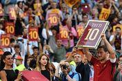 Totti Larang AS Roma Pensiunkan Nomor 10