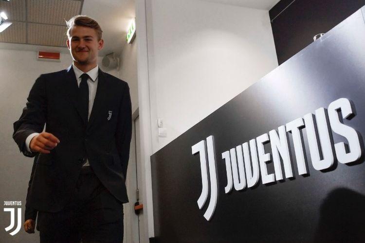 Bek anyar Juventus, Matthijs De Ligt.