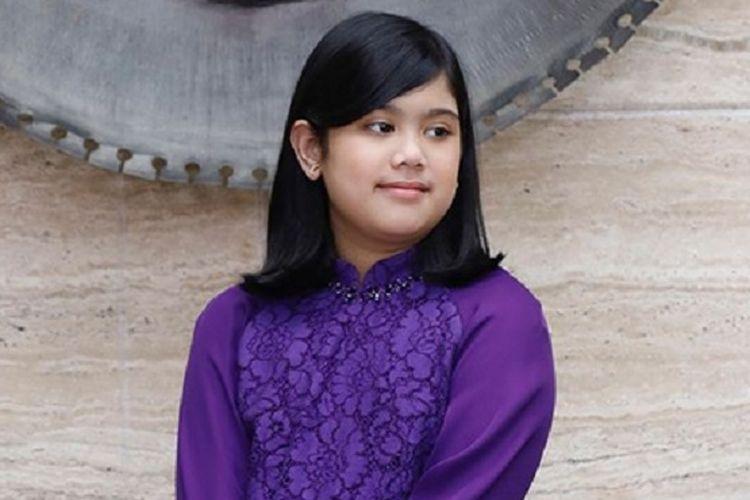 Putri Annisa Pohan and Agus Harimurti Yudhoyono, Almira's birthday on August 17.
