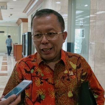 Sekjen PPP Arsul Sani saat ditemui di Kompleks Parlemen, Senayan, Jakarta, Kamis (29/3/2018).