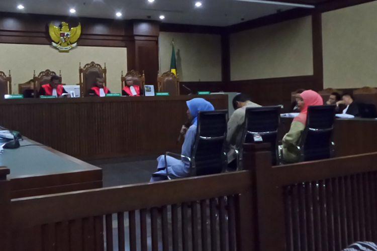 Wuryanti, istri auditor BPK Ali Sadli saat bersaksi di Pengadilan Tipikor Jakarta, Jumat (12/1/2018).