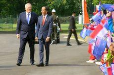 Presiden Jokowi Sambut PM Australia Scott Morrison di Istana Bogor