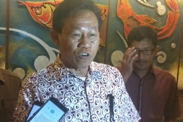 Kepala Badan Penyuluhan dan Pengembangan Sumber Daya Manusia Pertanian, Kementerian Pertanian Momon Rusmono di Pontianak, Kalimantan Barat (13/1/2018)