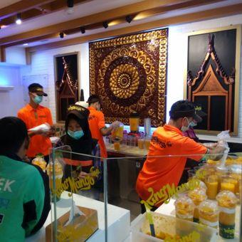 Gerai King Mango Thai di Mal Neo Soho, Jakarta Barat.