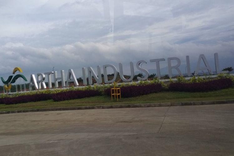 Artha Industrial Hill, salah satu kawasan industri di Karawang. Tahun ini, Pemkab Karawang menaikan PBB untuk wilayah di kawasan industri.