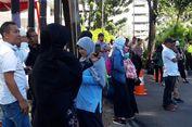 Para Pendukung Prabowo-Sandi Datangi Gedung MK