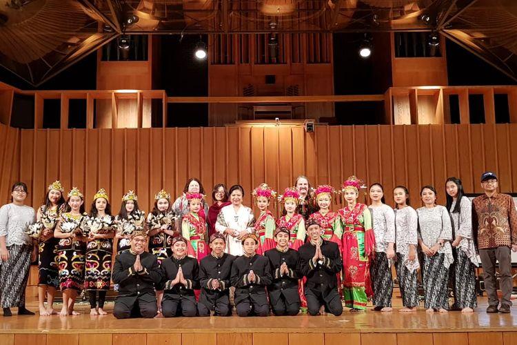 Sekelompok Siswa Sekolah di Bogor Pamerkan Budaya Indonesia di Amerika