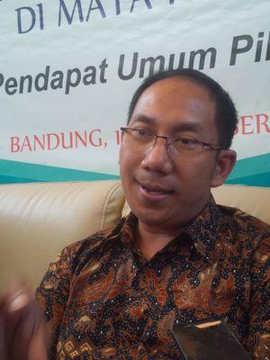 Direktur Eksekutif Indocon Fajar Nursahid