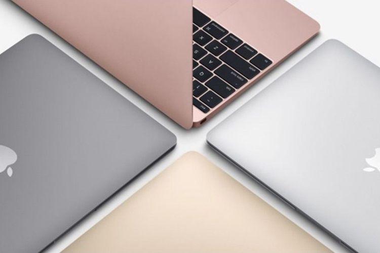 Ilustrasi MacBook 12 inci.