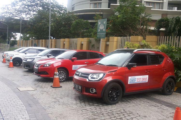 Acara Sunday Test Drive Suzuki Ignis dan Baleno yang digelar pada Minggu (17/12/2017). Sunday Test Drive merupakan acara hasil kerja sama antara Kompas.com dan Suzuki Indomobil Sales.