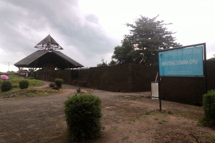Dinding Benteng Somba Opu