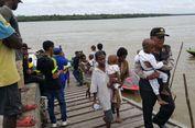 TNI dan Polri Evakuasi 14 Anak Penderita Campak dan Gizi Buruk di Asmat