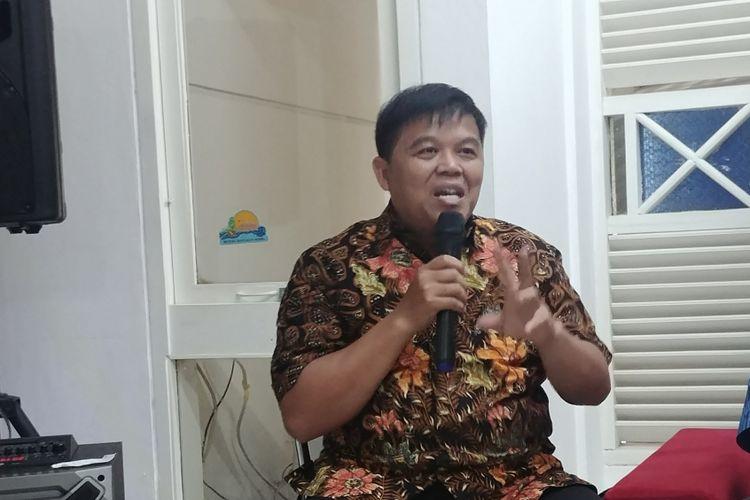 Direktur Komite Pemantau Legislatif (KOPEL) Syamsuddin Alimsyah