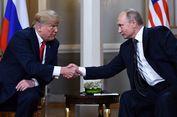 Ditanya Rencana Pembicaraan dengan Putin, Trump: Bukan Urusan Anda