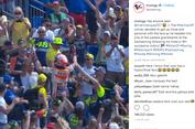 Marquez Selebrasi di Depan Pendukung Rossi