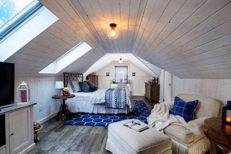 Loteng bisa dimanfaatkan untuk ruang tidur.