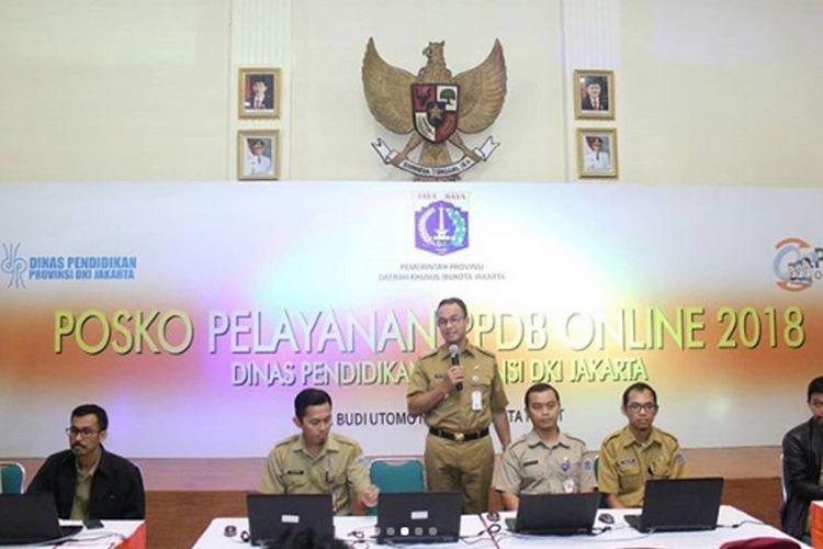 Posko Pelayanan PPDB Online DKI Jakarta