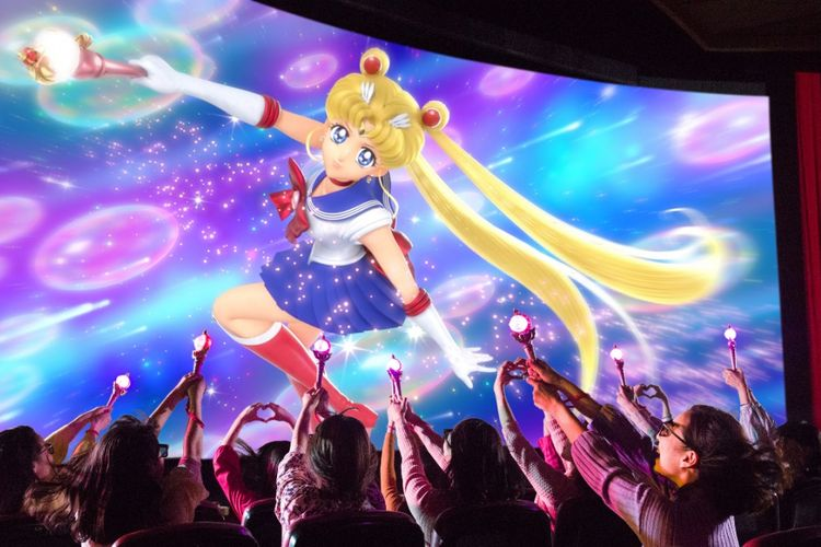 """Pretty Guardian Sailor Moon The Miracle 4D""."