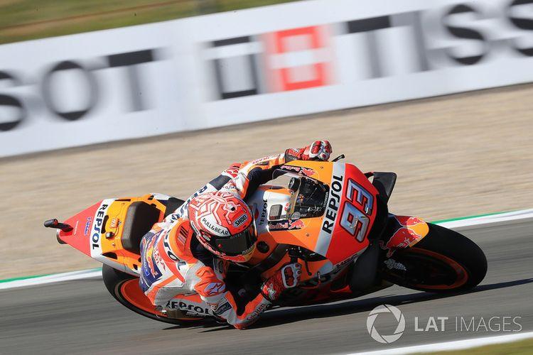 Klasemen MotoGP, Marquez Makin Tinggalkan Rossi