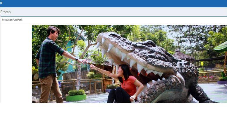 Predator Fun Park memberikan promo untuk pelanggan KA komersial