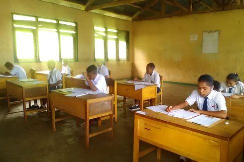 Fasilitas Kurang, 128 SMP di Kabupaten Manggarai Timur Ikut Ujian Nasional Berbasis Kertas dan Pensil