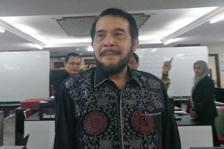Ketua MK Anwar Usman di Gedung MK, Jakarta Pusat, Rabu (22/5/2019).
