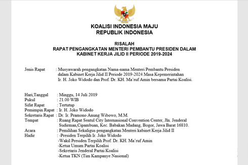 [POPULER DI KOMPASIANA] Risalah Hoaks Kabinet Jokowi-Ma'ruf | Istri Dipaksa Melayani Suami | Berhentilah Nyinyir Drama Korea