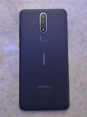 Ilustrasi Nokia 3.1 Plus tampak belakang