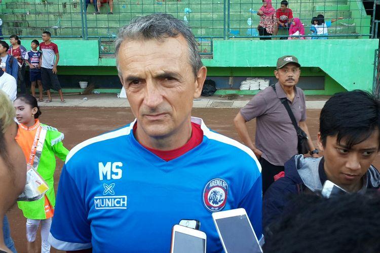 Uji Coba Lawan PSIS Jadi Persiapan Arema FC Lawan PSS Sleman