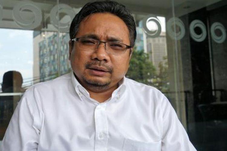 Ketua Umum Pimpinan Pusat Gerakan Pemuda Ansor, Yaqut Cholil Qoumas saat ditemui di bilangan Wahid Hasyim, Jakarta Pusat, Selasa (24/1/2017).