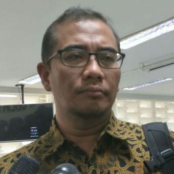 Komisioner KPU RI Hasyim Asyari ketika ditemui di Kantor Bawaslu RI, Jakarta, Jumat (2/3/2018).