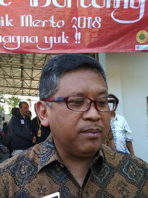 Sekjen DPP PDI-P Hasto Kristiyanto di SMA Seminari Mertoyudan Kabupaten Magelang, Sabtu (30/6/2018).